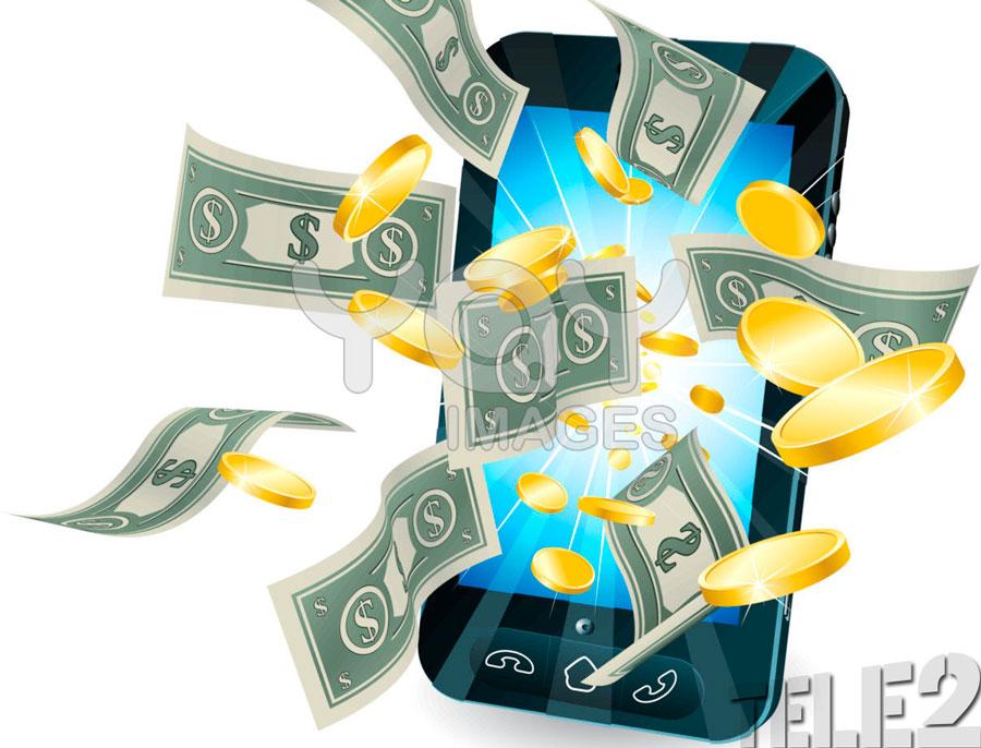Как снять с Теле2 деньги