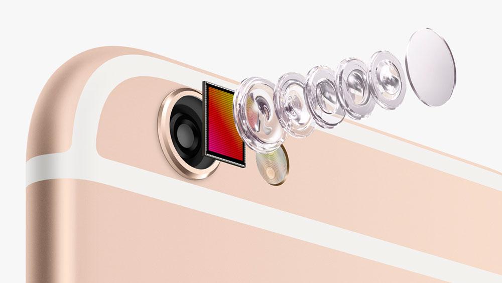 Новые параметры камеры в iPhone 6S