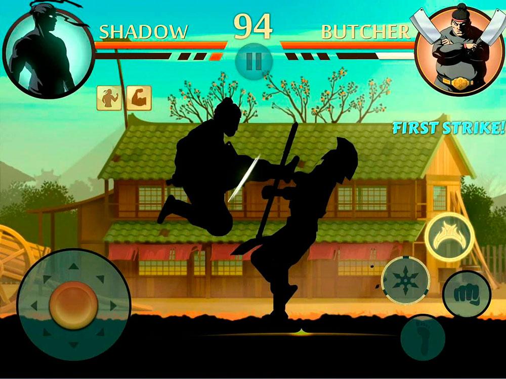 Игра ниндзя 2 тень скачать