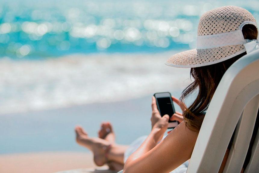 Услуги роуминга в отпуске