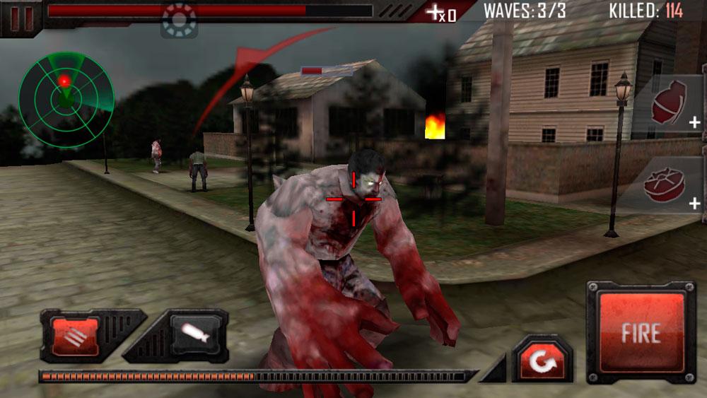 Убийца зомби - Zombie Road 3D
