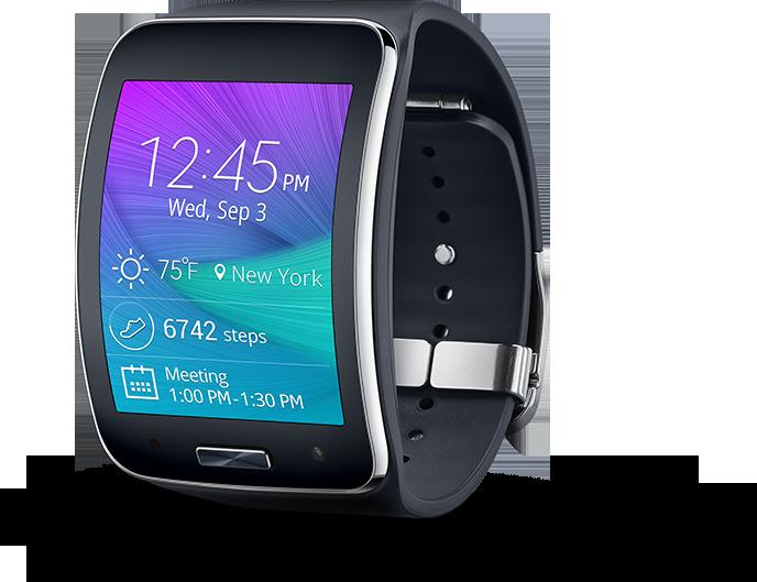 Умные часы Samsung gear s black