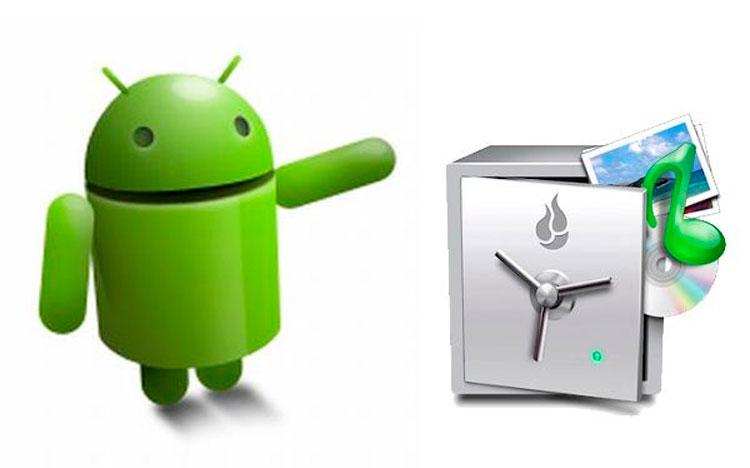 Резервное копирование информации на Android