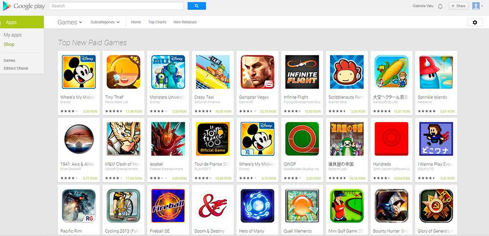 Качаем приложения с Google Play Market