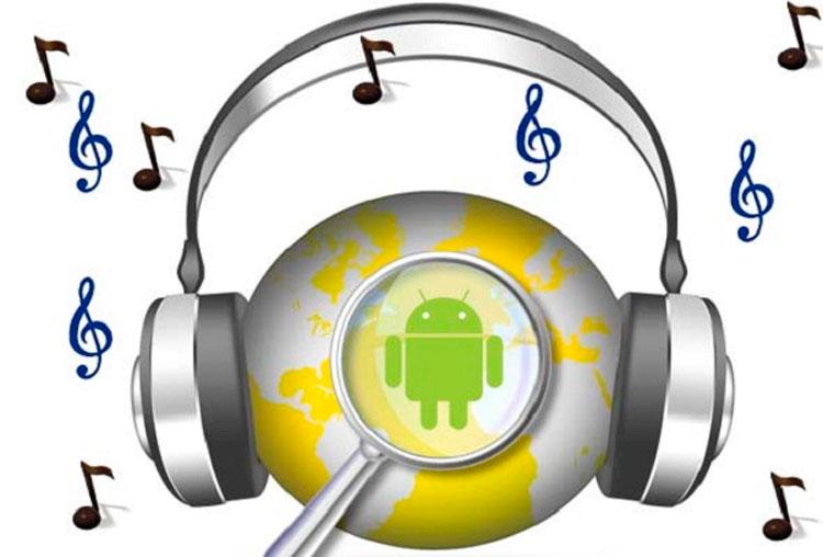 Прослушивание музыки на Android