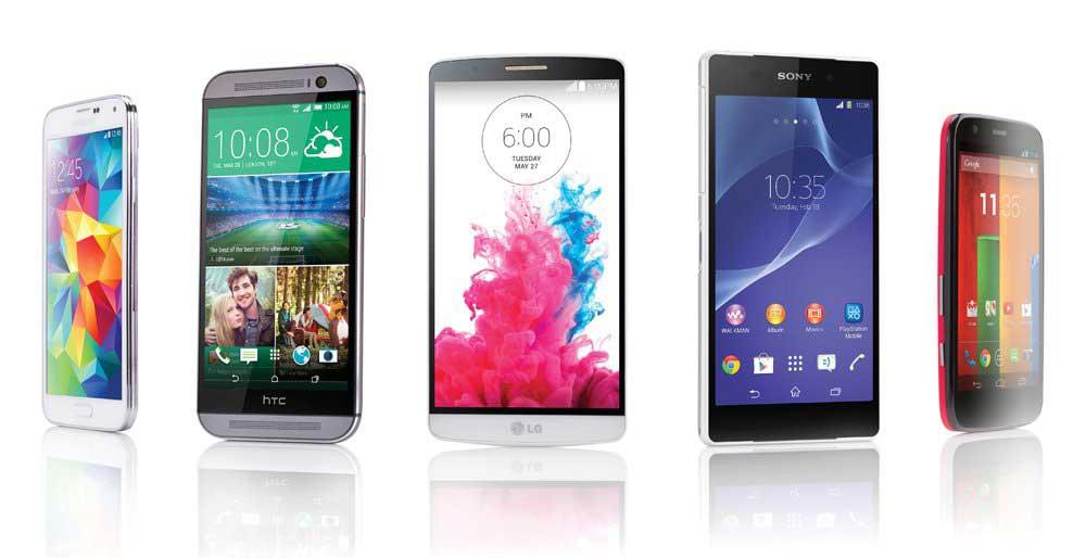 Новинки смартфонов 2015 года