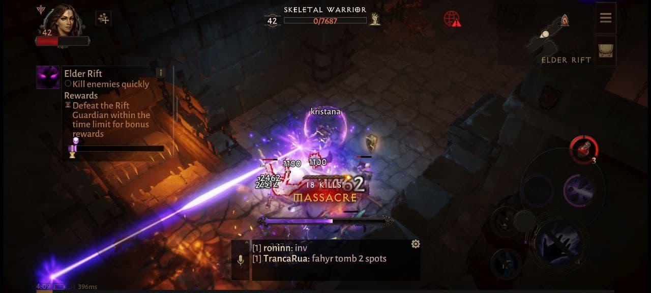 Diablo Immortal геймплей на Android